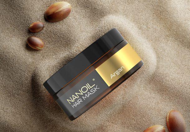 nanoil odżywcza maska z olejkiem arganowym